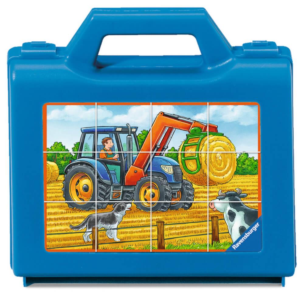 Holzspielzeug Ravensburger 024327 Puzzle Bauernhoffahrzeuge 12 Teile