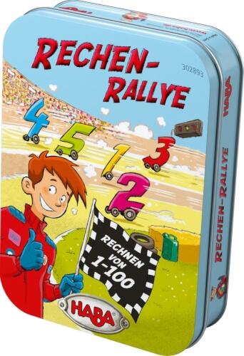 HABA - Rechen-Rallye, für 2-5 Spieler, ab 6 Jahren