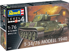 REVELL  03294 1:76 T-34/76 Modell 1940 ab 12 Jahre
