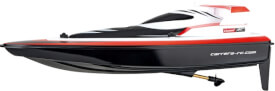 Carrera RC - Race Boat, 25 km/h, ca. 44 cm, 2,4 GHz, rot
