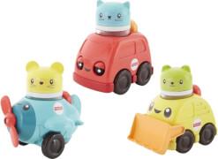 Mattel FVC74 Fisher-Price Bunte Rasselspaß Fahrzeuge Sortiment