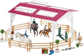 Schleich Horse Club - 42389 Reitschule mit Reiterinnen und Pferden, ab 3 Jahre