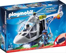 Playmobil 6874 Polizei-Helikopter mit LED-Suchscheinwer, ca. 35x10x25, ab 4 Jahren