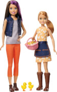 Mattel GCK85 Barbie® Farm Skipper + Stacie Puppen