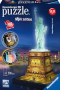 Ravensburger 12596 Puzzle 3D Freiheitsstatue Night Edition 108 Teile