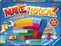 Ravensburger 267507 Make n Break Neuauflage, Bauspiel-Klassiker
