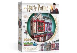 3D-Puzzle Harry Potter Qualitäts Quidditch Shop und Slug & Jiggers Apotheke 305 Teile