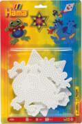 HAMA Bügelperlen Midi - 3er Set Stiftplatten im Blister - Frosch, Drache, groß