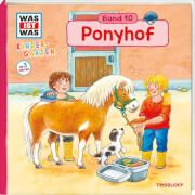 WAS IST WAS Kindergarten Band 10 Ponyhof, Klappenbuch, 12 Seiten, ab 3 Jahren
