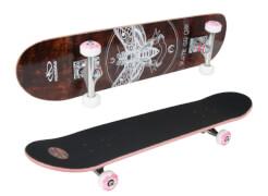Hudora 12760 - Skateboard Brooklyn ABEC 7, ca. 78x20 cm, ab 6 Jahren