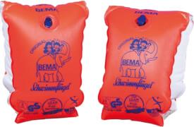Happy People BEMA-Schwimmflügel, 1-6 Jahre, 11-30 kg, Gr. 0, orange