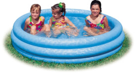 Pool 3-Ring Crystalblue
