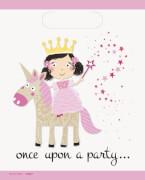 Princess & Unicorn Geschenktüten 8 Stück