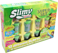 Slimy Super Set mit 12 Slimys, je 100 Gramm